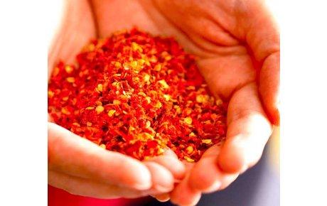 Red hot crushed pepper